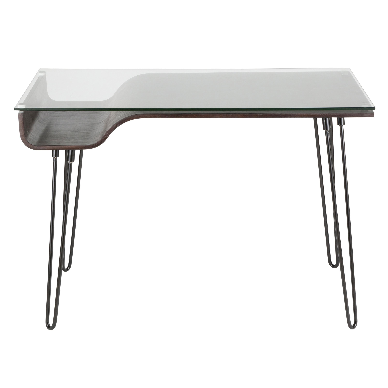 Image of: Shop Black Friday Deals On Carson Carrington Kams Mid Century Modern Office Desk Overstock 10156787