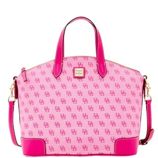 Dooney & Bourke Madison Signature Large Gabriella (Introduced by Dooney & Bourke at $228 in Jun 2016) - Fuchsia