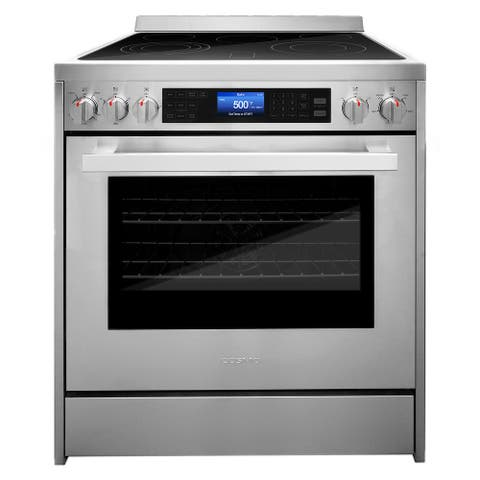 Cosmo 30 in 5 cu. ft. Single Oven Electric Range with Convection Oven