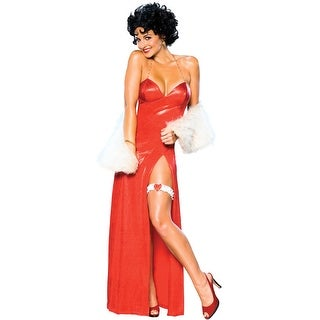 Rubies Deluxe Betty Boop Adult Costume - Solid - X-Small