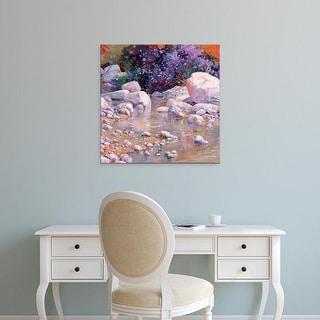 Easy Art Prints Julie G. Pollard's 'Desert Surprise' Premium Canvas Art