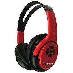 Xtreme XT-51414 Talk N' Walk Bluetooth Headphones (Red)
