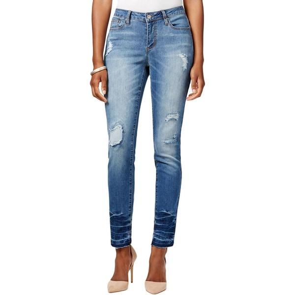 Earl Destroyed Jeans Denim Skinny Womens Jean qZqTS4g