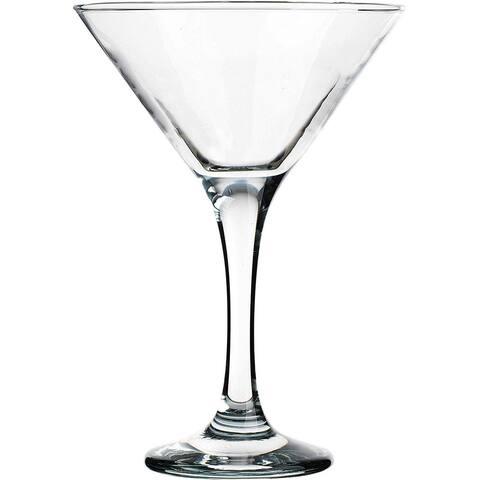 Palais Contemporary Cosmopolitan Cocktail - Martini Glasses, Set of 4 Clear, 6 Oz