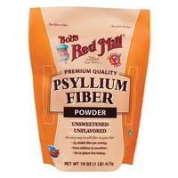 Bob's Red Mill Powder Fiber - Psyllium - Case of 4 - 16 oz