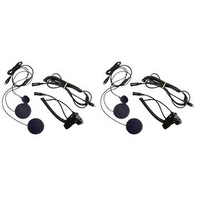 Midland AVP-H2 (2 Pack) Closed Face Helmet Headset Kit