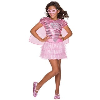 DC Comics Supergirl Tutu Costume Dress Child