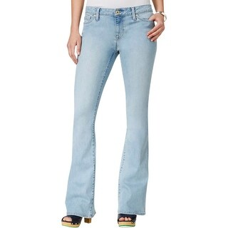 Tommy Hilfiger Womens Flare Jeans Stretch Classic-Rise