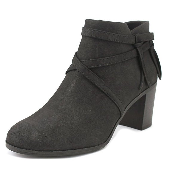 Easy Street Reed Women W Round Toe Synthetic Black Bootie