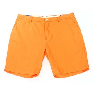 Polo Ralph Lauren NEW Neon Orange Mens Size 33 Khakis Chinos Shorts