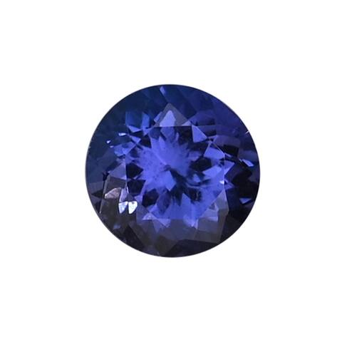 Shop LC AAAA Tanzanite Faceted Rare Jewelry Making Rnd 6 mm 0.85 ctw