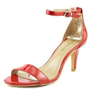 Bandolino Madia Open-Toe Leather Heels