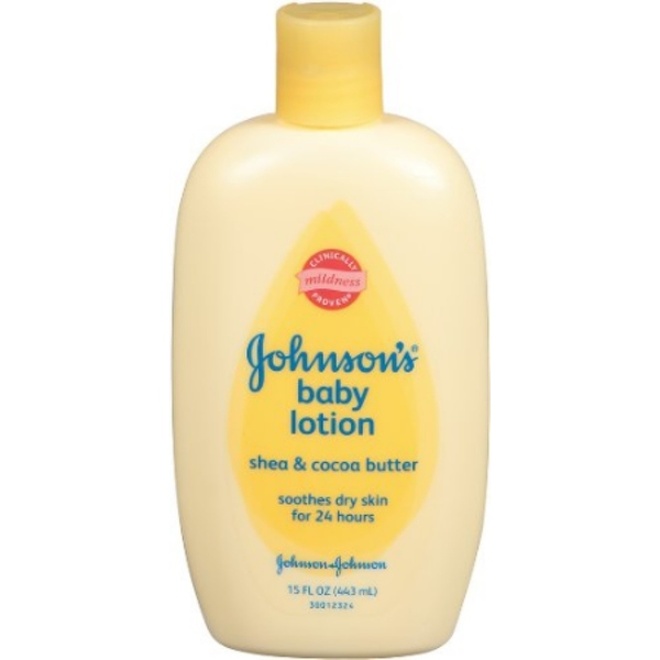 JOHNSON'S Shea and Cocoa Butter Baby Lotion 15 oz