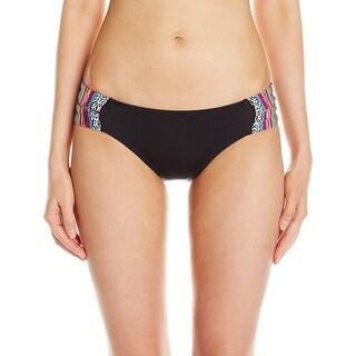Lucky Brand Womens Large Hipster Bikini Bottom Swimwear