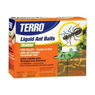Shop Terro 1806 Outdoor Liquid Ant Bait Stations 6 Bait Stations On Sale Overstock 13444102