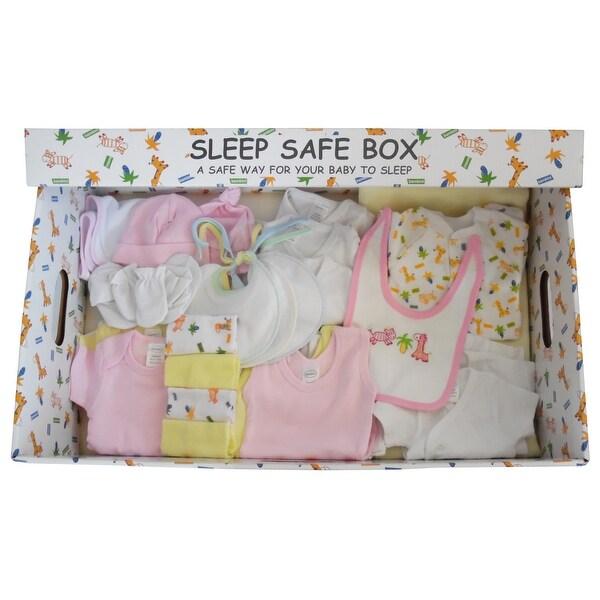 Girl 29 Piece Baby Starter Set Box - Size - Newborn - Girl