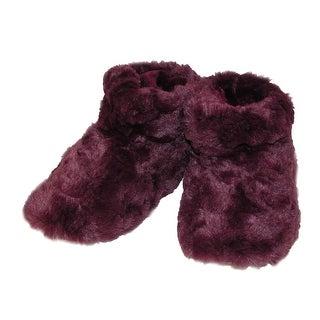 Isotoner Women's Textured Regina Boot Slippers