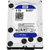 """""""WD WD40EZRZ WD Blue 4 TB 3.5-inch SATA 6 Gb/s 5400 RPM PC Hard Drive - SATA - 5400 - 64 MB Buffer - Blue"""""""