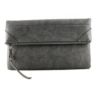 Urban Expressions Storm Synthetic Clutch - Gray