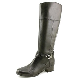 Bandolino Carlita Women Round Toe Leather Mid Calf Boot