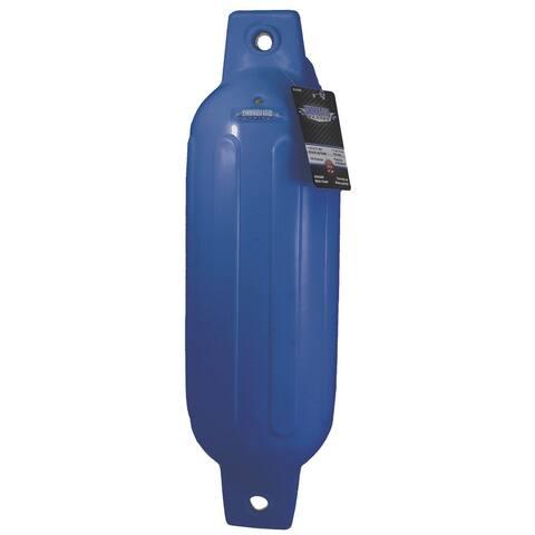 Shoreline marine sl52387 inflatable fender 6.5x23 blue
