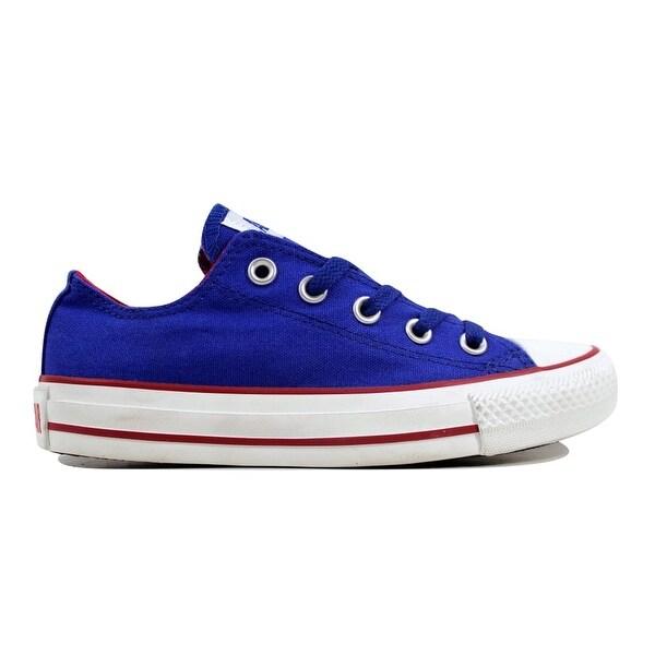 f7d6f6be6aa517 Shop Converse Men s Chuck Taylor Ox Mazarine Blue 135480F Size 3 ...