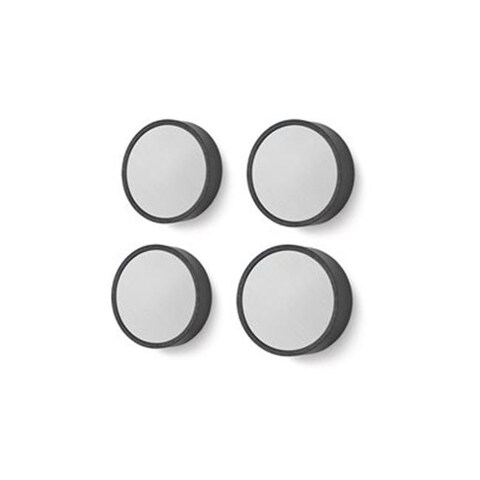 1.18 in. Monor Medium Magnets for All Boards in Silver, 4 Piece