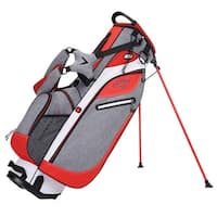 New Callaway Hyper-Lite 3 Stand Bag (Gray / Orange / White) - gray / orange / white