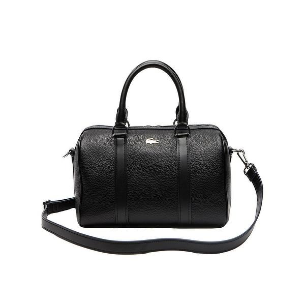 c869bec8fbc0 Shop Lacoste Womens Rene Medium Boston Bag in Black - One size ...