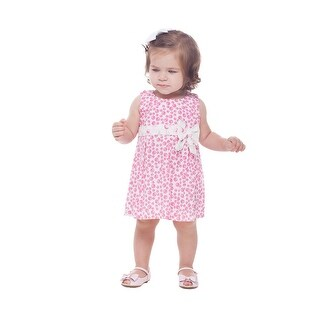 Pulla Bulla Baby Girls' Dress Sleeveless Polka Dot Sundress (2 options available)