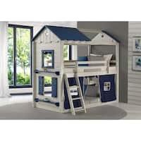 Allentown Twin Twin Bunk Bed Overstock 9933535