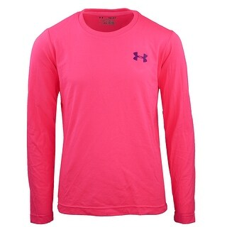 Under Armour Girl's Small Logo L/S T-Shirt