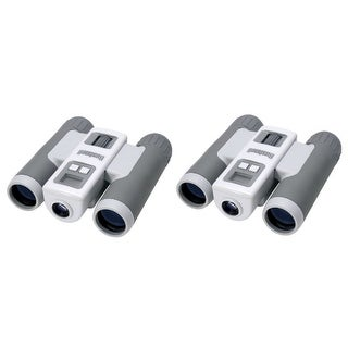Bushnell ImageView 10x25mm SD Slot (2-Pack) Binoculars with Digital Camera