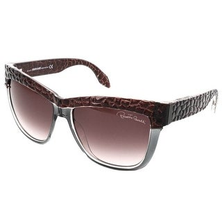 Roberto Cavalli RC 739S/S 71Z REA Brown/Grey Gradient Wayfarer Sunglasses