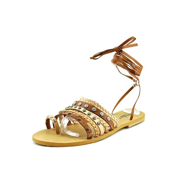 Lucky Brand Blaire   Open Toe Synthetic  Gladiator Sandal