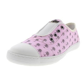 Re-Sole Womens New Low Palms Graphic Slip On Fashion Sneakers - 39