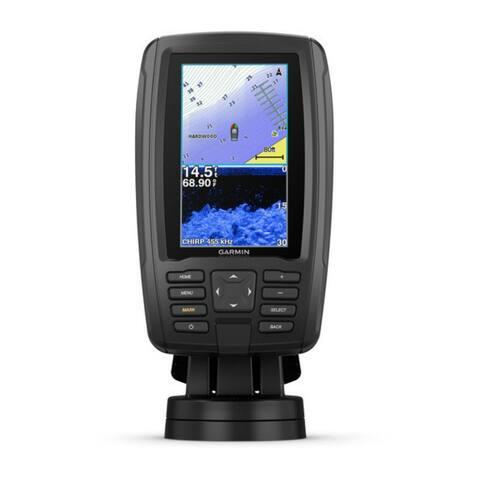 Garmin ECHOMAP Plus 43cv Fishfinder with GT20-TM Transducer