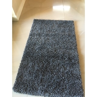 Safavieh California Cozy Plush Dark Grey/ Charcoal Shag Rug