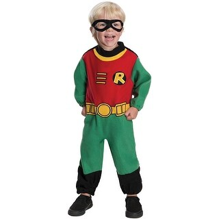 Teen Titans Robin Romper Infant Costume - Green