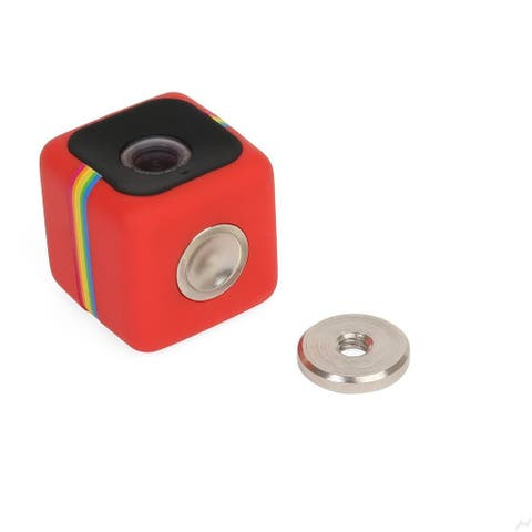 "Polaroid Magnet - Tripod 1/4""- 20 Adapter Mount for Polaroid Cube Action Camera"