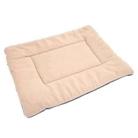 Washable Soft Comfortable Silk Wadding Mat Cushion for Pet Off-white M