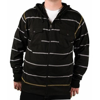 Brooklyn Xpress Men's Striped Knit Hoodie