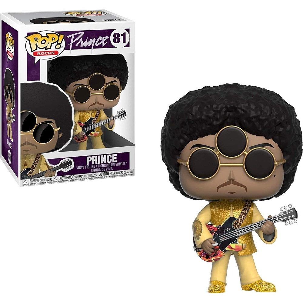Prince Funko POP Vinyl Figure (3rdEyeGirl - Gold)