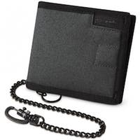 Pacsafe RFIDsafe Z100-Charcoal Anti-Theft RFID Blocking Bi-fold Wallet