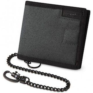 Pacsafe RFIDsafe Z100 - Anti-Theft RFID Blocking Bi-fold Wallet w/ 5 Card Slots