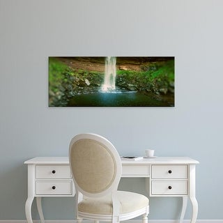 Easy Art Prints Panoramic Image 'Waterfall, Kaaterskill Falls, Catskill Mountains, Hunter, New York' Canvas Art