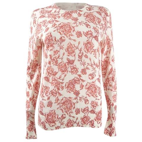 Lauren Ralph Lauren Women's Floral Crewneck Sweater