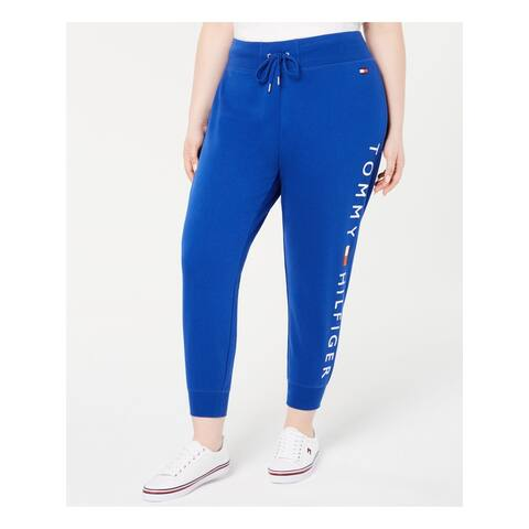 TOMMY HILFIGER Womens Blue Lounge Pants Size 0X