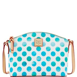 Dooney & Bourke Dots Ruby Crossbody (Introduced by Dooney & Bourke at $148 in Nov 2016) - Sea Foam|https://ak1.ostkcdn.com/images/products/is/images/direct/2e6593772b042a33510998baee802a994d9cdca1/Dooney-%26-Bourke-Dots-Ruby-Crossbody-%28Introduced-by-Dooney-%26-Bourke-at-%24148-in-Nov-2016%29.jpg?impolicy=medium