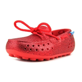 People Footwear The Senna Toddler Moc Toe Synthetic Red Loafer